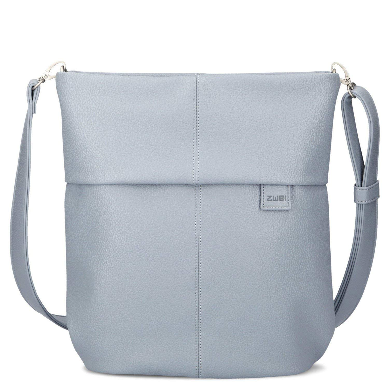 Två Mademoiselle M12 handväska konjak