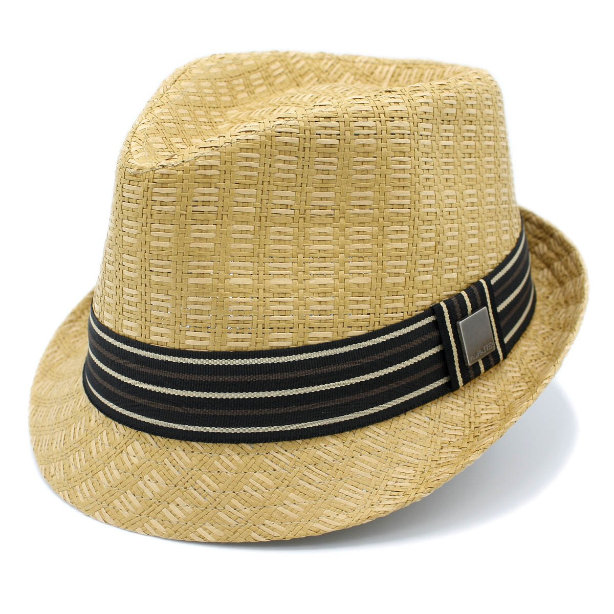 a29e0dbfe4963 The Hatter Classic Narrow Brim Roll Up Panama Fedora Sun Hat Beach Cap With  Band (C-Tan)