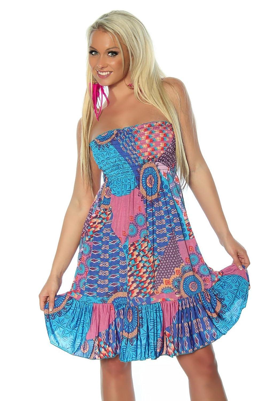 Unbekannt Women's A-LineDress Multicoloured Multicoloured