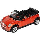 Mini Cooper Cabrio Orange 1/24 Maisto Modellauto Modell Auto