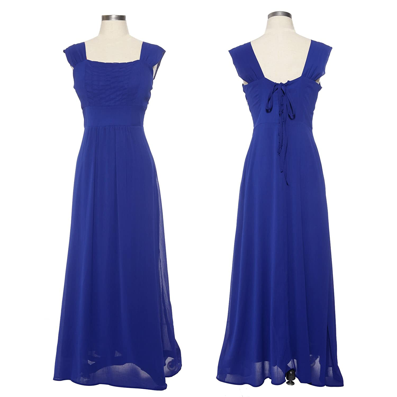 Accesorios para vestido azul rey largo