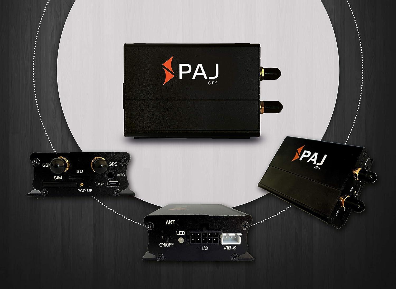 Variante Localizaci/ón con App Localizaci/ón gsm y GPS Marca Alemana Professional Finder de PAJ Localizador GPS Protecci/ón Antirrobo