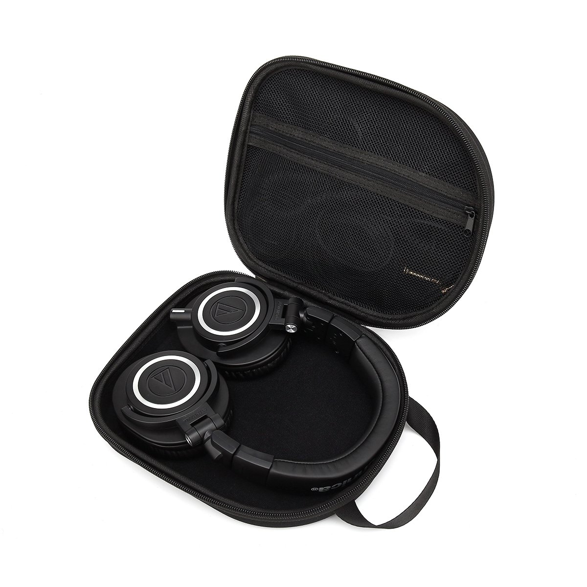 Hard Carry Travel Bag Case for Audio-Technica ATH-M50x Professional Monitor Headphones ATH-M50xMG ATH-M40x ATH-M30x ATH-M70x by Aproca (black) 4330603331