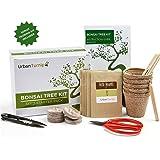 Kit albero bonsai, cresci il tuo albero bonsai a partire dal seme - Il set regalo include 5 varietà di alberi da piantare - Coltivazione al chiuso con istruzioni dettagliate in Italiano