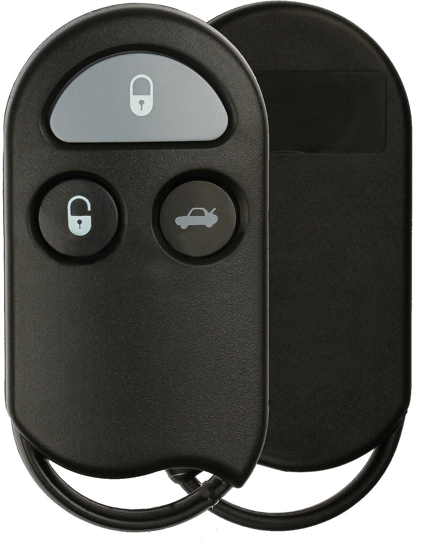 KeylessOption Keyless Entry Remote Control Car Key Fob Case Shell Pad Replacement for KOBUTA3T