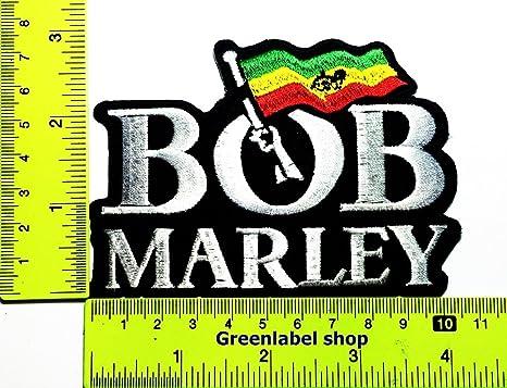 Bob Marley Jamaica música reggae Ska Punk Hip Hop parche Logo ...