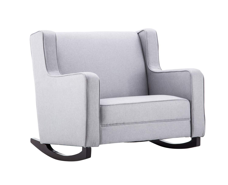 MCombo Schaukelstuhl Schaukelsessel Schwingsessel Relaxsessel Stillsessel Stuhl