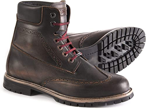 Stylmartin Men s Wave Caf Racer Boots Brown, Size US-11, EU-44