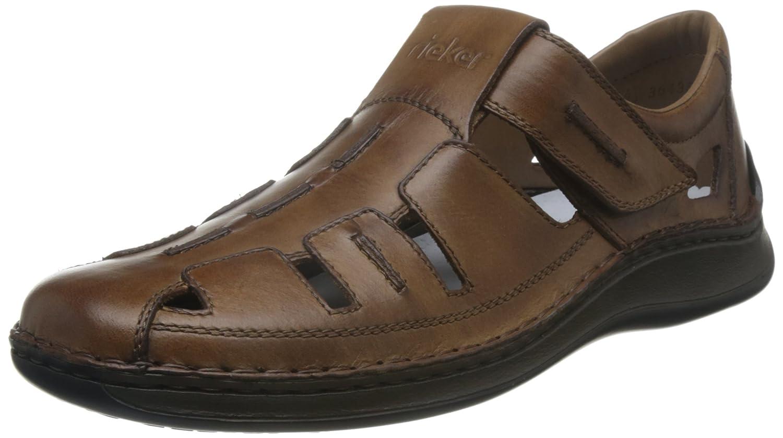 Sandalen Rieker Herren Offene 05256 25 braun 275181 Schuhe