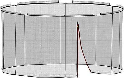 Ampel 24 Barras no Incluidas Resistente a los UV Red de Seguridad de reemplazo Deluxe para Cama Elastica 366 cm y 8 Barras Red Interior