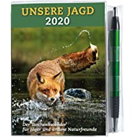 Taschenkalender UNSERE JAGD 2020: Der Taschenkalender für Jäger und andere Naturfreunde