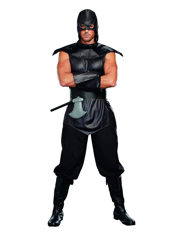 Dreamgirl 9874 The Assassin Male Kostüm (Größe XL)
