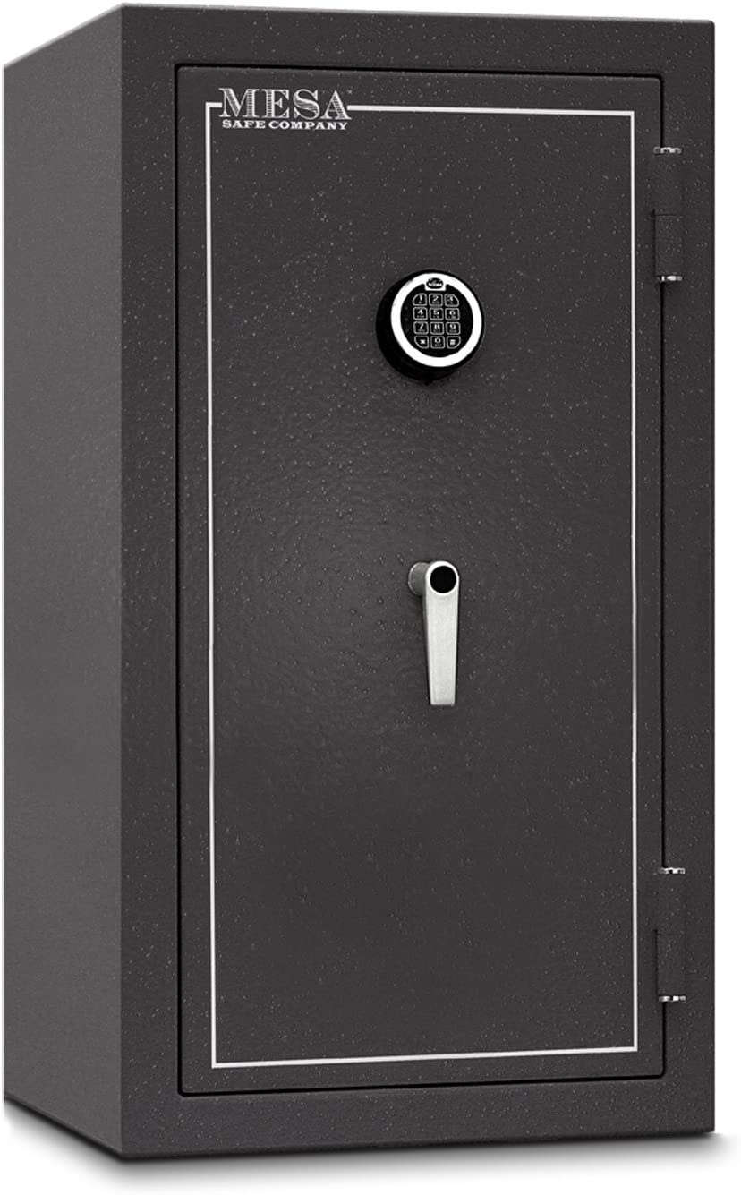 B001D6DG7Y Mesa Safe Company Model MBF3820E Burglary and Fire Safe with Electronic Lock, Hammered Gray 71QlgFYnGWL.SL1416_