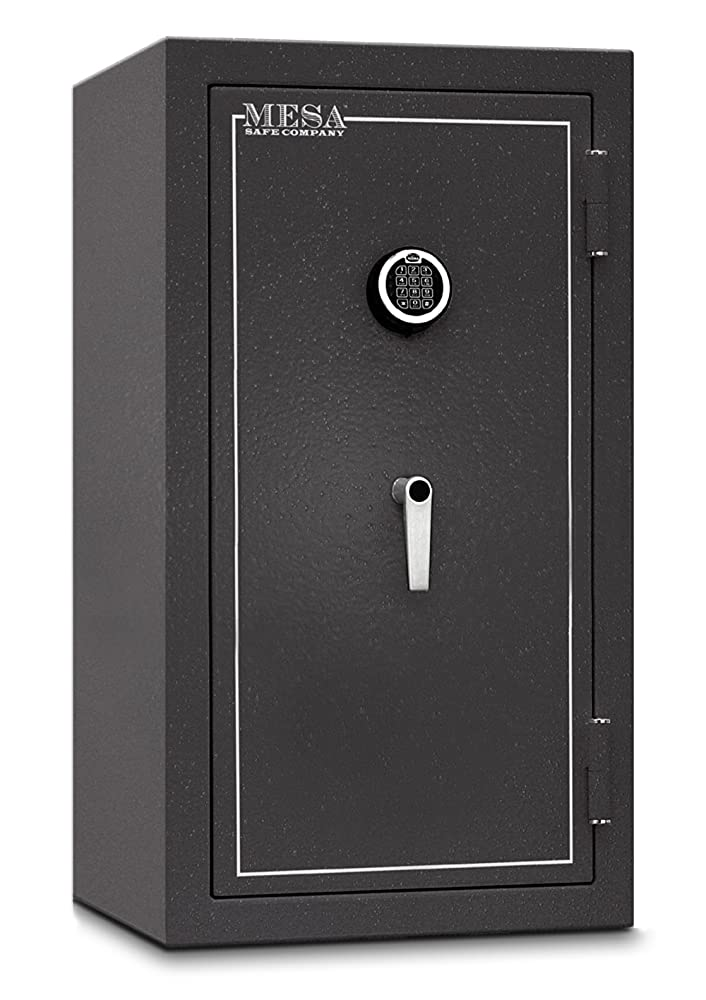 12. Mesa Safe Company Model MBF3820E Burglary and Fire Safe with Electronic Lock, Hammered Gray