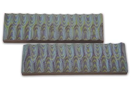 Amazon.com: G-10 Mango de G10 Verde, Azul Calidad Escalas ...