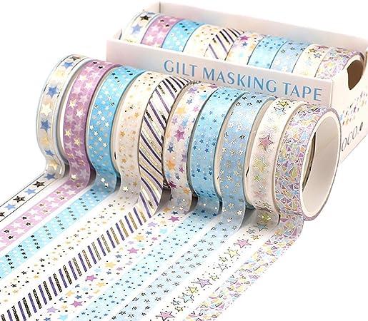 Lot de 10 rouleaux de ruban Washi pour chat ou chien