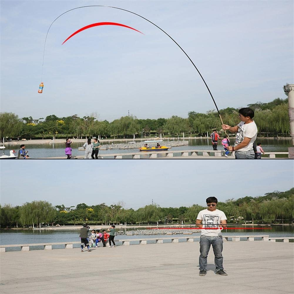 7.2M Telescopic Fishing Stream Rod Portable Carbon Fiber Spinner Fishing Poles