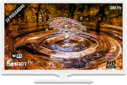 Television LED INFINITON Smart TV-Android TV (TDT2, HDMI, VGA, USB) (32 Pulgadas (Blanca)): Amazon.es: Electrónica