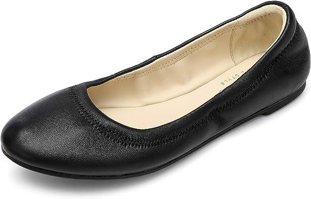 Women's Ballet Flats Leather Lambskin