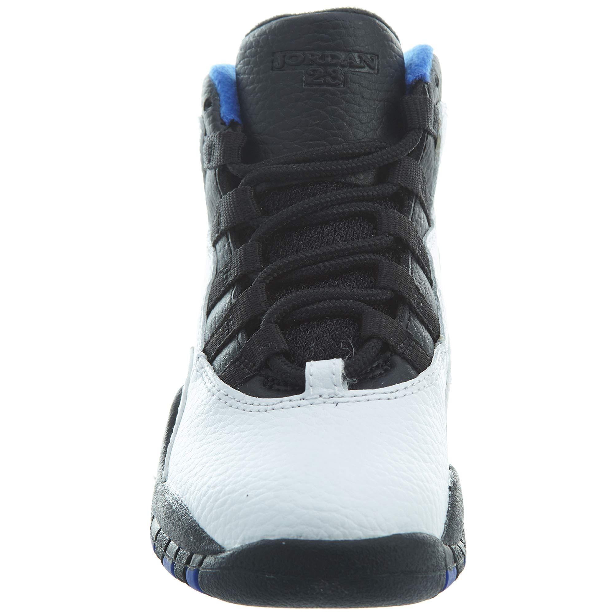Jordan Air Retro 10''Orlando White/Black-Royal Blue (PS) (13 M US Little Kid) by Jordan (Image #2)