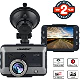 """Dash Cam for Cars, ABLEGRID 2.0"""" HD Wide Angle Mini Hidden Car Driving Recorder Camera DVR with Loop Recording Night Vision G-sensor"""