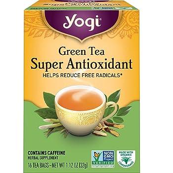 Yogi Super Anti-Oxidant Organic Green Tea
