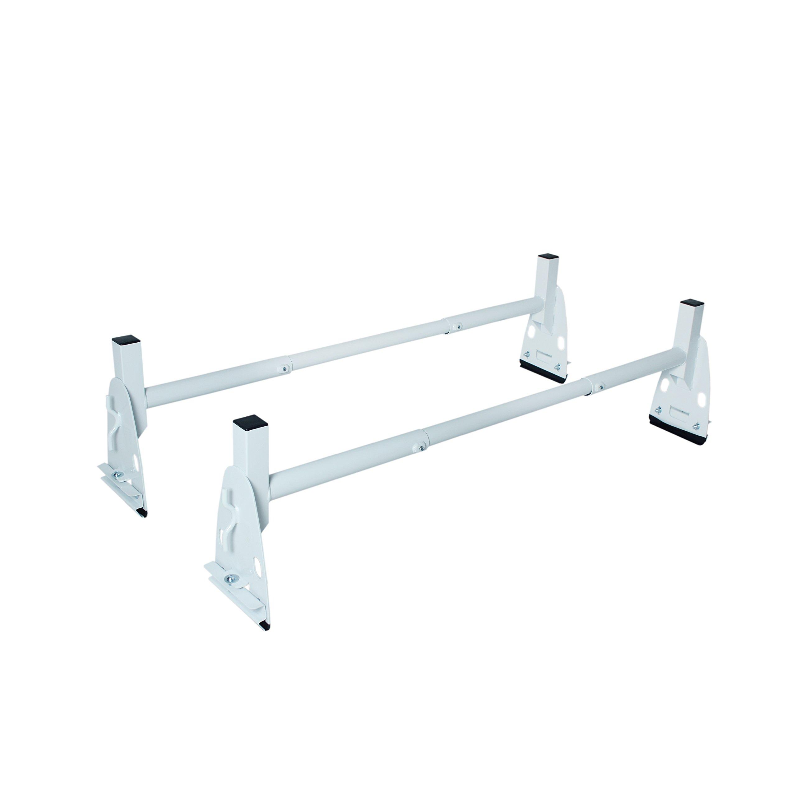 AA-Racks Model X317 HighTop 2 bar ladder roof rack Heavy Duty Rain-Gutter Van Roof Rack Round Bar Steel
