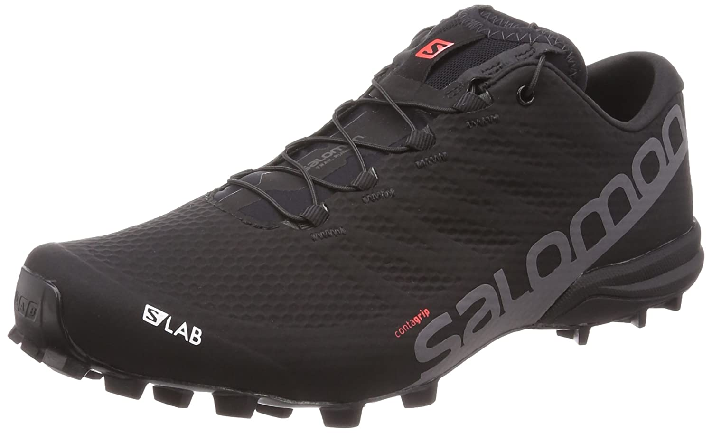 Salomon Men's S/Lab Speed 2 Running Shoes B073S6KZCM 7 D(M) US|Black, Racing Red, White