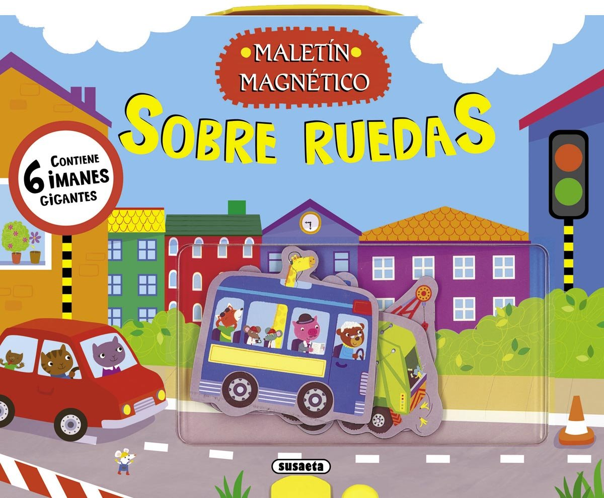 Sobre ruedas / On wheels (Spanish Edition) (Spanish) Hardcover – Illustrated, June 30, 2012