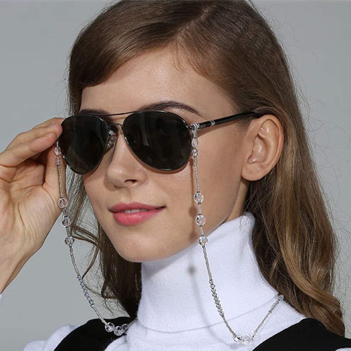 Momorain Dekorative Perlen Sonnenbrille Schnur Brillenhalter Mode Brille Umh/ängeband Brillenketten Brillenschnur Seil