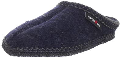 9c0c82732 Haflinger Women's AS20 Slipper,Navy,36 EU(Womens 5 / Mens 3)