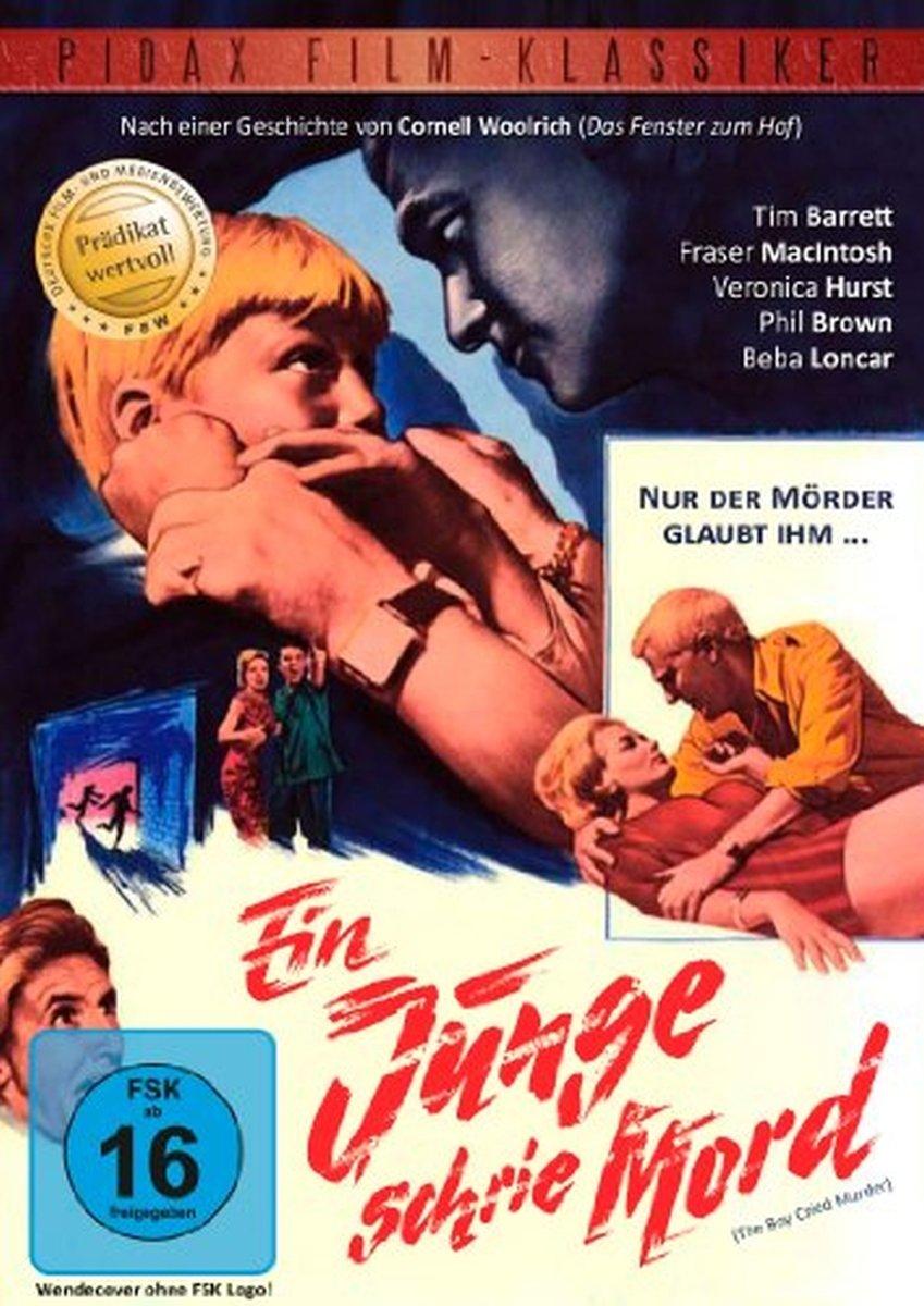 Ein Junge schrie Mord (Hochspannender Kriminalfilm, welcher mit dem Prädikat wertvoll ausgezeichnet wurde) [Alemania] [DVD]