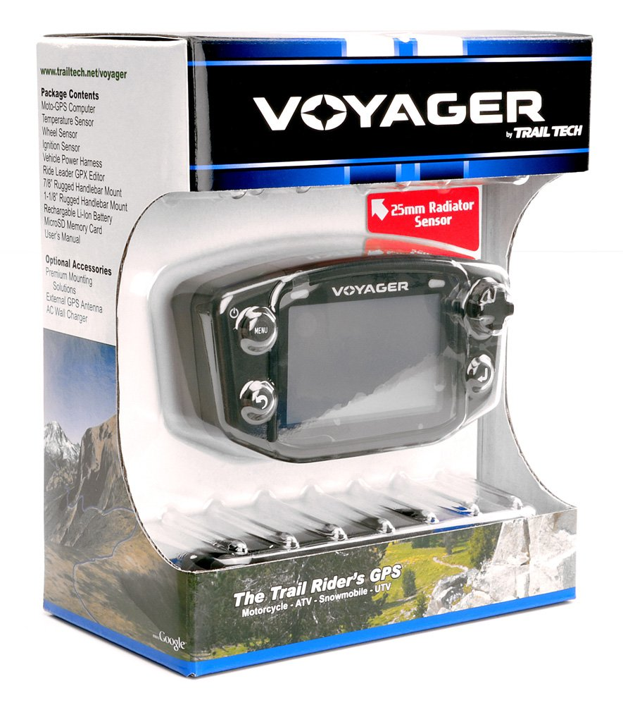 Trail Tech 912-102 Voyager Stealth Black Moto-GPS Computer by Trail Tech (Image #4)