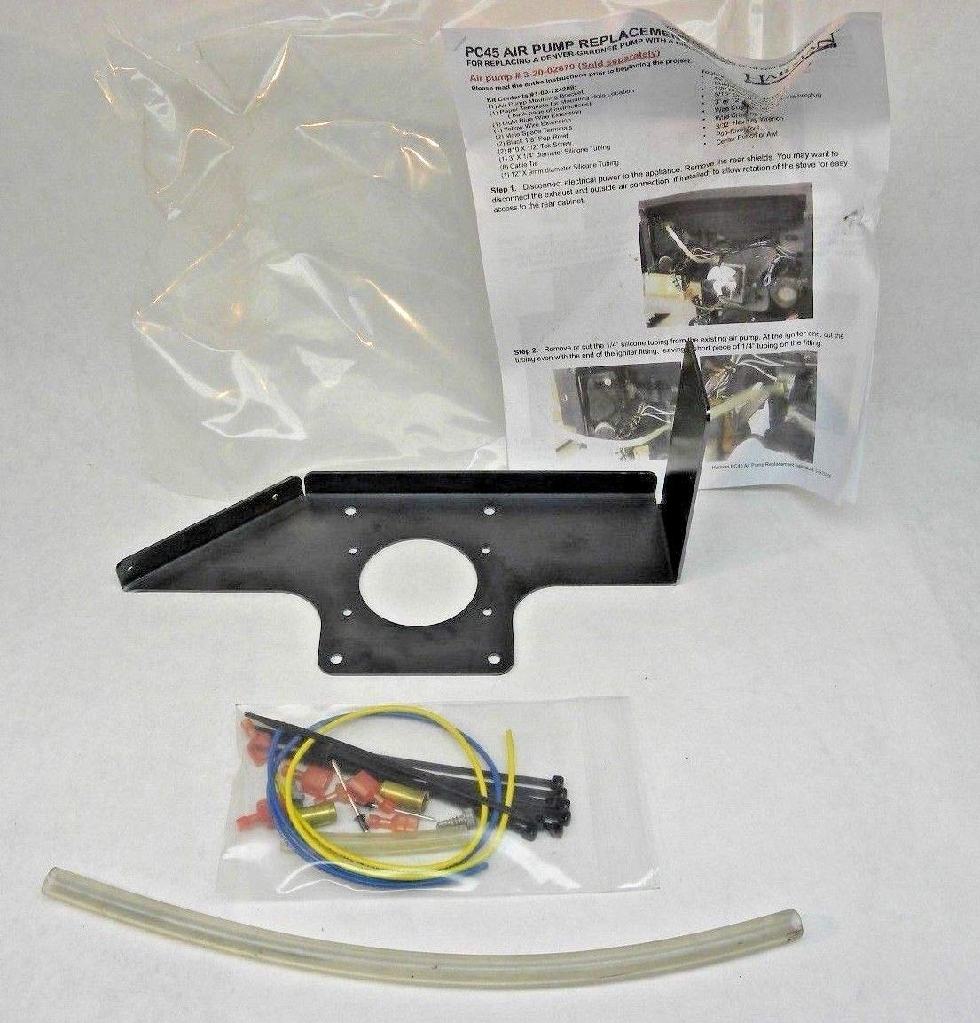 New Air Pump Mounting Kit for The Harman PC45 Pellet Stove (1-00-724209) WE