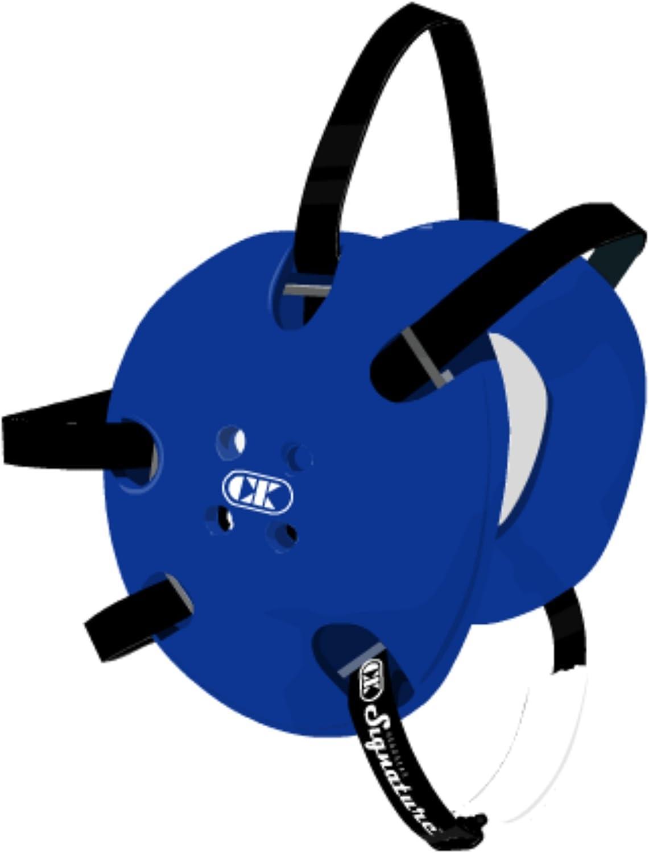 Cliff Keen Custom Signature Headgear - Royal/Black : Wrestling Protective Headgear : Sports & Outdoors