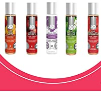 Intimate Lube, Sensual Massage Glide for Men, Woman,Couples- Lovers Variety 5 Pack...