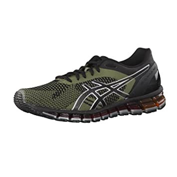 5a88254b466f4 ASICS GEL QUANTUM 360 KNIT OLIVE GREEN T728N 9086  Amazon.co.uk ...