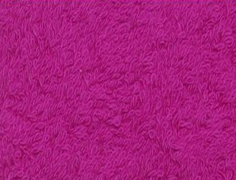 Trovador Juego de toallas Panamá con cenefa para punto de cruz Tocador+Lavabo+Ducha. Color Fucsia: Amazon.es: Hogar