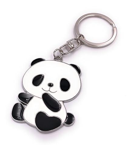 H-Customs Panda Pandabar Bear Llavero Colgante: Amazon.es ...