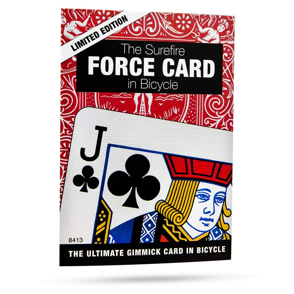 Magic Makers Surefire Force Card in Bicycle Stock
