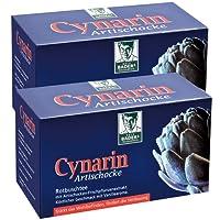 BADERs Cynarin aus der Apotheke. Rotbuschtee mit Artischockenextrakt. Köstlicher Geschmack nach Vanille. 2 x 20 Filterbeutel