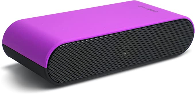 Retail Packaging Purple iFrogz IF-BSP-PRP BoostPlus Near Field Audio Speaker for Smartphones and Digital Music Players