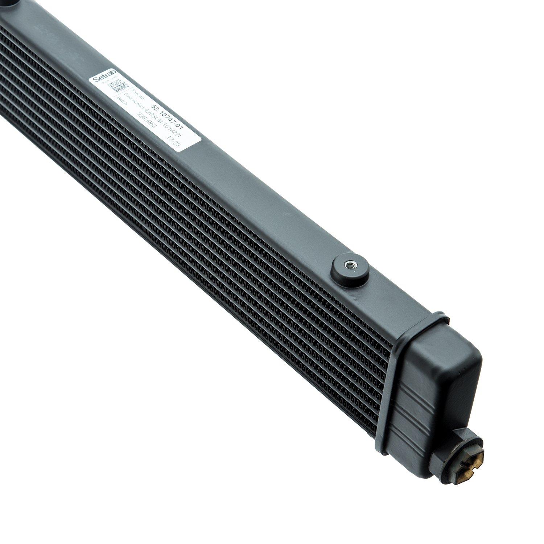 M22 ports 10 row Setrab 53-10747-01 ProLine SLM/Range Oil Cooler 420mm hdr-to-hdr