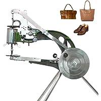 ColouredPeas 4-Bearings Shoe Repair Hand Leather Sewing Machine, Shoe Cobbler Machine with Nylon Line, Manual Mending…