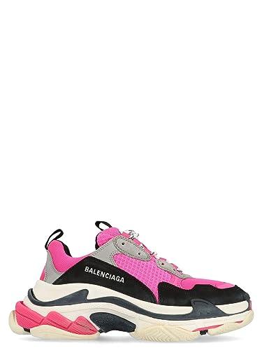 Balenciaga Fashion Womens 524039W09OH6470 Pink Sneakers