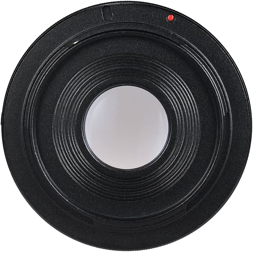 TPOTOO FD-EOS Lens Mount Adapter Camera Lens Adapter Ring with Optical Glass Focus Infinity FD Lens to EOS EF Mount Body for Canon 450D 50D 5D 5D2 500D 550D 600D 650D 6D 70D 700D