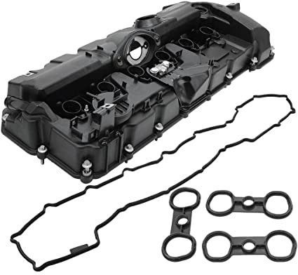BOXI Valve Cover With PCV Valve, Gasket & Bolts Fits 3 0L BMW 2008-2013  128i 2007-2013 328i 2007-2008 328xi 2008-2011 528i 2008 528xi 2007-2012 X3