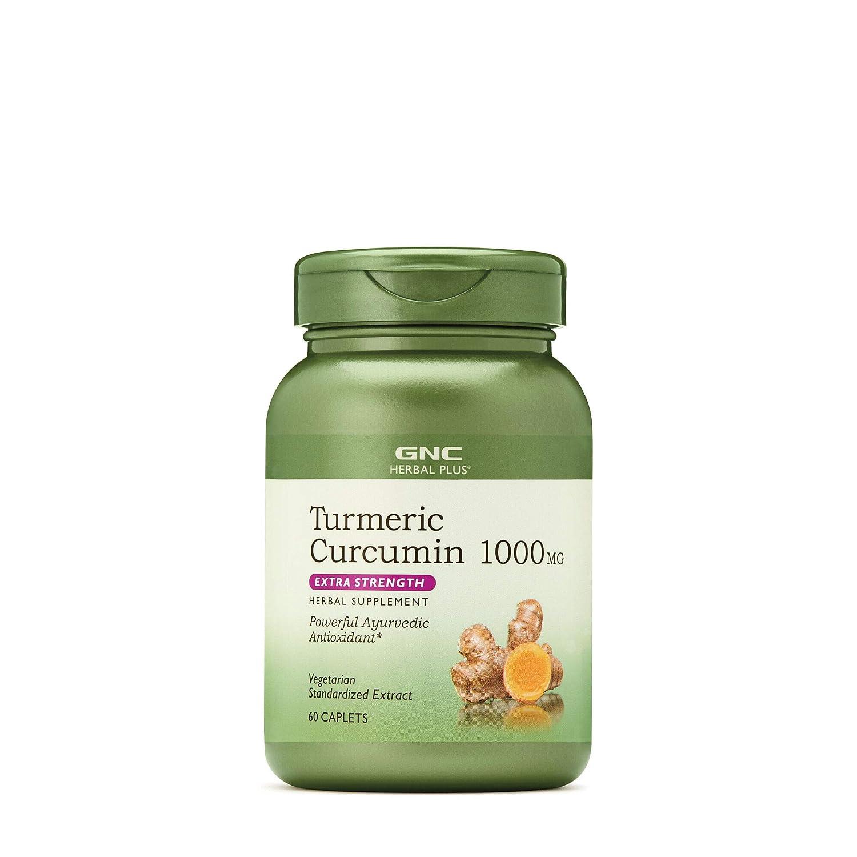 GNC Herbal Plus Turmeric Curcumin 1000mg