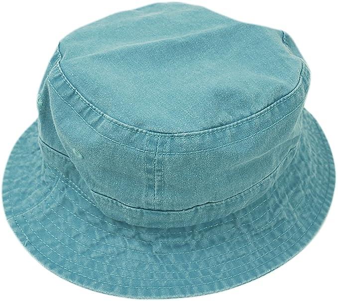 Adams Cap Unisex Adult VA101 Adams Cotton Vacationer Bucket Cap Caribbean  Blue Large 4362023d7e12