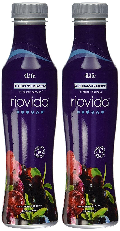 Riovida Tri-Factor Formula by 4Life – 2×500 ml Bottles